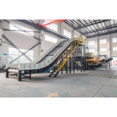 Machine de recyclage d'aluminium